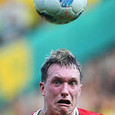 Phil Jones Scared of the ball!